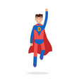 father superheroes super dad character vector image