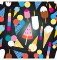 Graphic design colorful ice cream vector image vector image