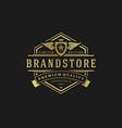 Luxury logo design template