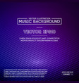 music abstract background blue equalizer for vector image vector image