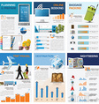 Travel And Journey Chart Diagram Infographic vector image