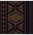 Vertical ornamental seamless pattern Dark ethnic vector image vector image