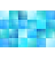 Abstract bright blue tech background vector image vector image