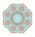 bohemian mandala design vector image vector image
