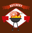 butchery house vector image vector image