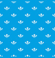 clothes button retro pattern seamless blue vector image vector image
