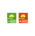 Cloud download and upload 22 vector image vector image