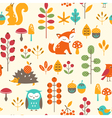Cute autumn pattern
