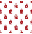 gift seamless pattern hand drawn gift boxes vector image vector image