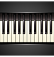 Piano key vector | Price: 1 Credit (USD $1)