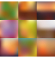 Smooth abstract colorful mesh backgrounds vector image