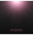 Soft Light Effect Background vector image