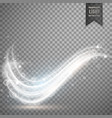 White light streak effect design