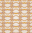 Patterned lines vector image