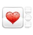 Happy Valentines day romance love heart Grunge