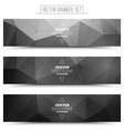 3d technology background vector image vector image