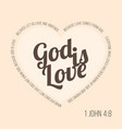 bible verse for evangelist and valentine vector image vector image