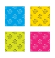 Construction gloves icon Textile protection vector image vector image