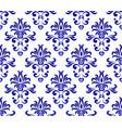 damask pattern seamlesss vector image vector image