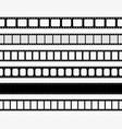 film strip tape movie for cinema photo video vector image vector image