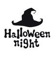 halloween night halloween theme handdrawn vector image vector image
