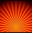 rays sunburst sunrise vector image