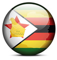 Republic of Zimbabwe vector image vector image