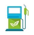 gasoline pupm station ecological vector image