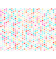 background of many colored circles of vector image vector image