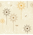 Flower seamless vector image vector image
