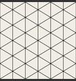 geometric seamless triangle pattern - minimalistic vector image
