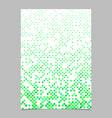 green dot pattern brochure background vector image vector image