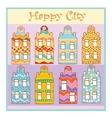 Happy city vector image vector image