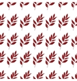 seamless background leaves vector image