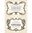 vintage beige abstract frames ornament vector | Price: 1 Credit (USD $1)