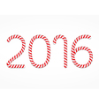 2016 Candy Canes vector image vector image