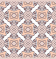 abstract seamless pink color pattern for vector image vector image