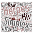 Back Pain and Herpes Simplex text background vector image vector image