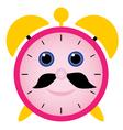 funny alarm clock vector image