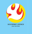 Holy spirit Church vector image vector image
