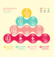 Modern soft color Circle Design template vector image vector image
