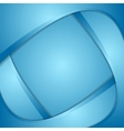 Bright corporate wavy background vector image vector image