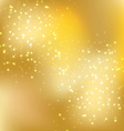 christmas gold background 1 vector image vector image
