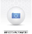 electronics icon vector image vector image