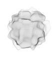 Lighr 3d abstract space particles array shape