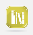 spines of books Color square icon vector image