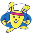Sports Rabbit vector image