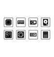 Computer Hardware Web Icon Set