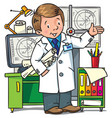 engineer coloring book profession abc series vector image vector image
