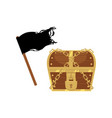 flat pirates symbols icon set isolated vector image vector image